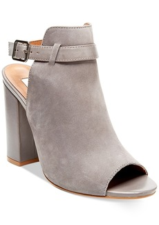 Steve Madden Women's Carnabi Block-Heel Peep-Toe Pumps Women's Shoes