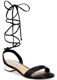 Steve Madden Women's Carolynn Two-Piece Lace-Up Sandals Women's Shoes