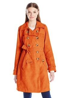 Steve Madden Women's Classic Trench Coat