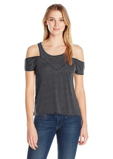 Steve Madden Women's Cold Shoulder Tee  L