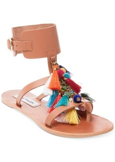 Steve Madden Women's Colorful Tassel Sandals