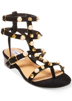 Steve Madden Women's Crowne Embellished Gladiator Sandals