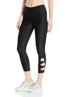 Steve Madden Women's Cutout Capri Legging  XL