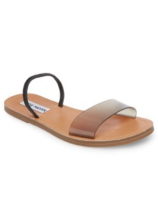 Steve Madden Women's Dasha Lucite Flat Sandals