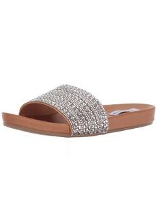Steve Madden Women's Dazzle Flat Sandal