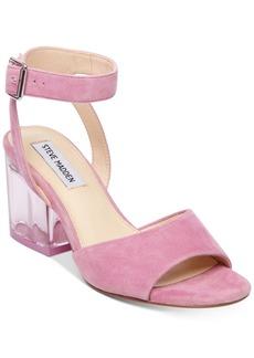 Steve Madden Women's Debbie Lucite-Heel Dress Sandals