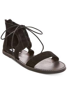 Steve Madden Women's Delgado Two-Piece Lace-Up Sandals Women's Shoes