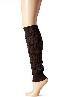 Steve Madden Women's Diamond Ribbed Textured Leg Warmer