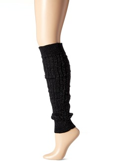 Steve Madden Women's Diamond Ribbed Textured Leg Warmer