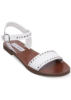 Steve Madden Women's Donddi Studded Flat Sandals