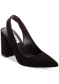 Steve Madden Women's Dove Slingback Block-Heel Pumps Women's Shoes