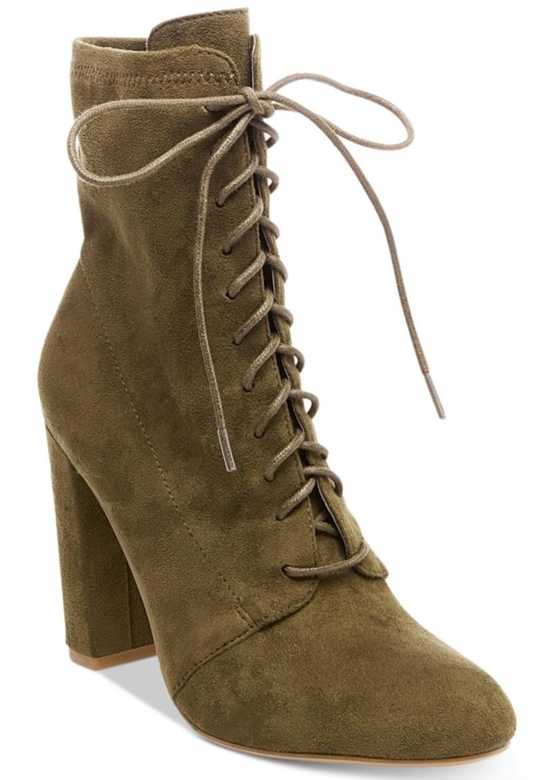 1bd437273d74 Steve Madden Steve Madden Women s Elley Lace-Up Block-Heel Booties