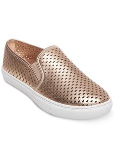 Steve Madden Women's Elouise Perforated Slide-On Sneakers