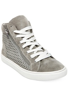 Steve Madden Women's Elyka Lace-Up High-Top Sneakers Women's Shoes