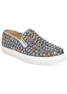 Steve Madden Women's Emmmaa-s Embellished Slip-On Sneakers Women's Shoes