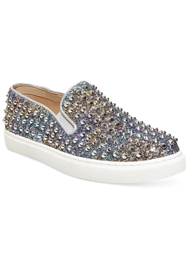 3ff4477d2df Steve Madden Women s Emmmaa-s Embellished Slip-On Sneakers Women s Shoes