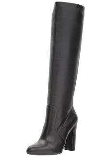 Steve Madden Women's Eton Fashion Boot black leather  M US