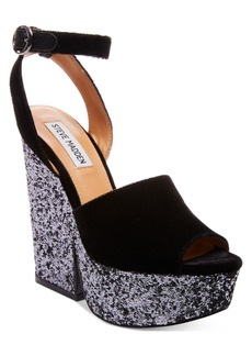 Steve Madden Women's Fabian Platform Wedge Sandals Women's Shoes