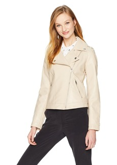 Steve Madden Women's Faux Leather Jacket  L