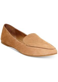 Steve Madden Women's Feather Almond-Toe Flats