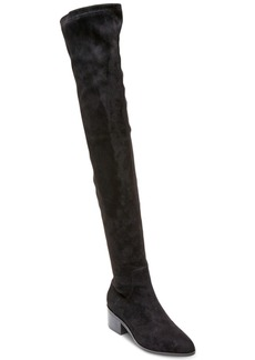 Steve Madden Women's Gabriana Block-Heel Over-The-Knee Boots Women's Shoes