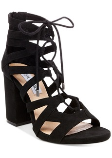 Steve Madden Women's Gal Lace-Up Sandals Women's Shoes