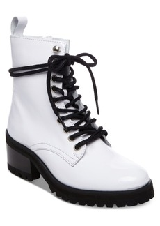 Steve Madden Women's Geneva Combat Boots