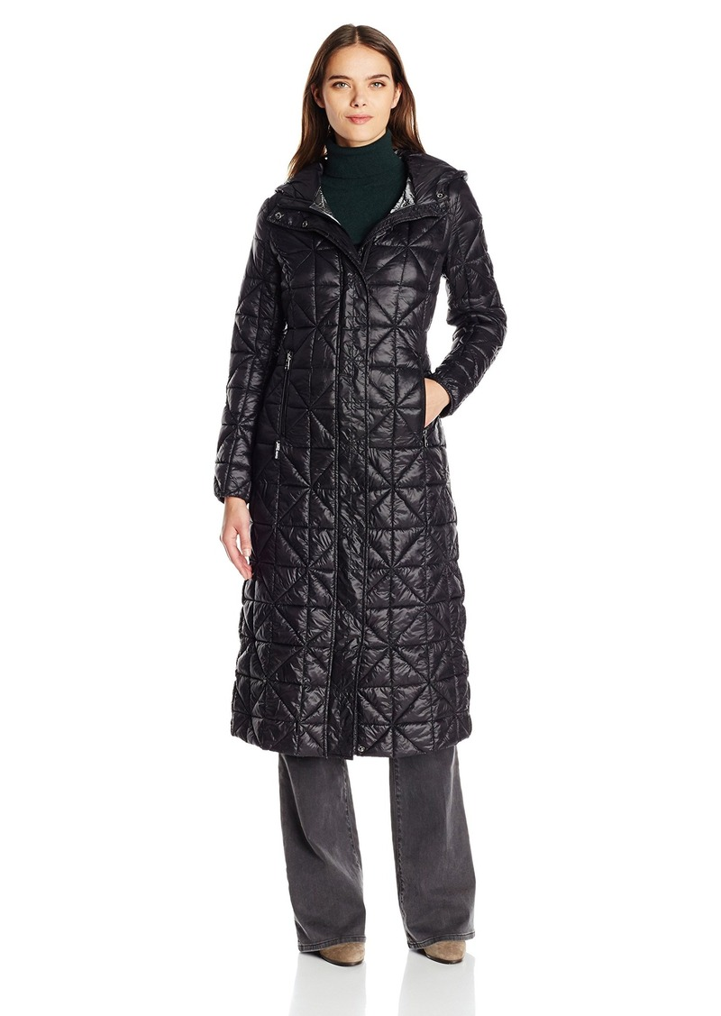 Steve Madden Women's Glacier Shield Maxi Puffer Coat  L