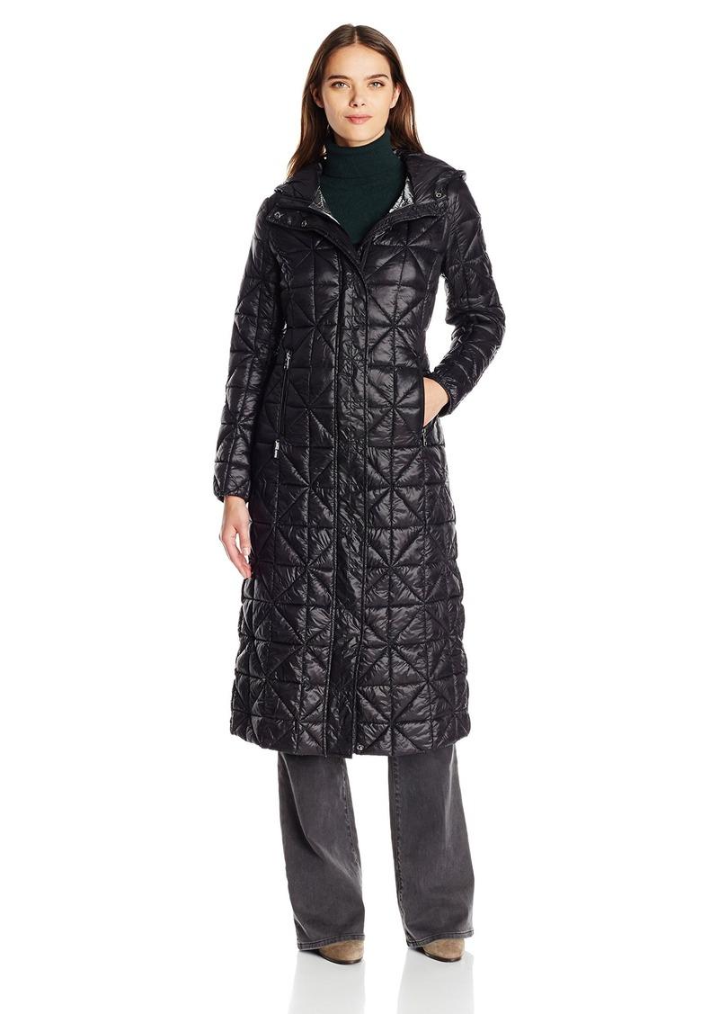 Steve Madden Women's Glacier Shield Maxi Puffer Coat  S