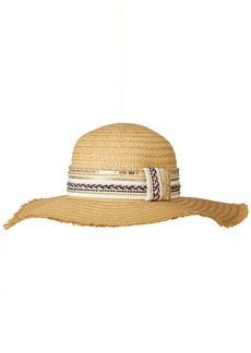 Steve Madden Women's Gold Rush Floppy Hat