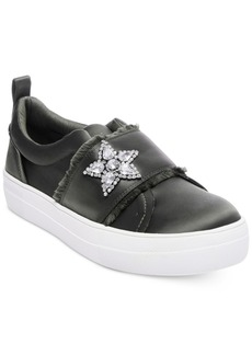 Steve Madden Women's Graphic Satin Sneakers