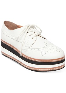 Steve Madden Women's Greco Flatform Oxfords