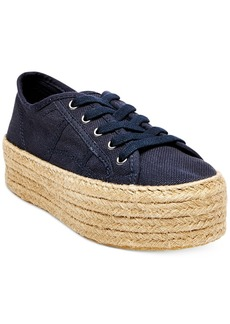 Steve Madden Women's Hampton Flatform Espadrille Sneakers Women's Shoes