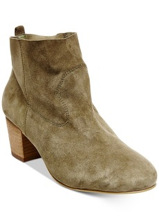 Steve Madden Women's Harber Block-Heel Booties Women's Shoes