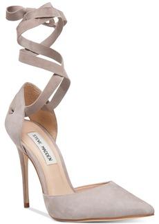 Steve Madden Women's Harlie Ankle-Tie Pumps
