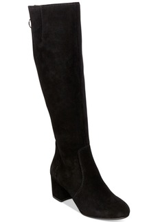 Steve Madden Women's Haydun Block-Heel Boots Women's Shoes