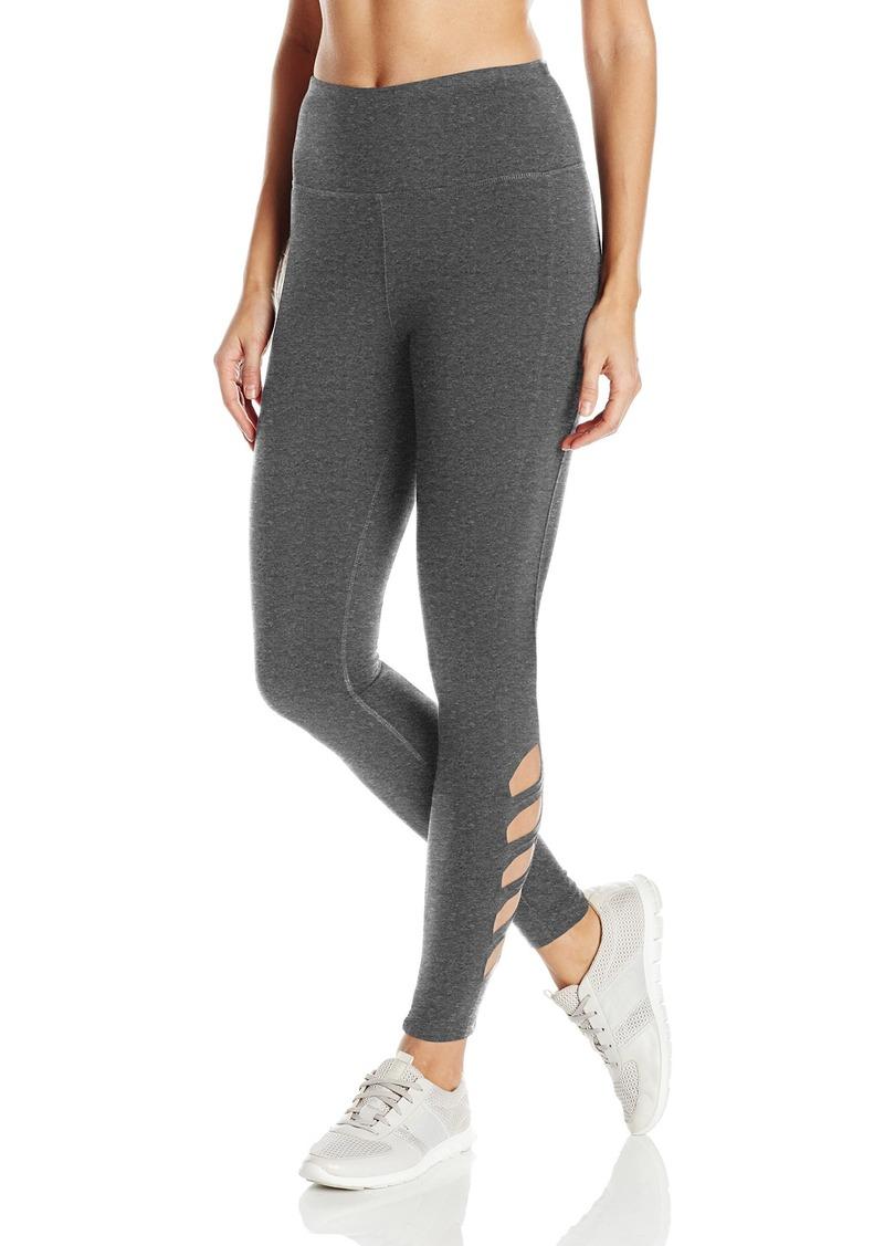 Steve Madden Women's High Waist Full Length Side Cutout Leggings  L