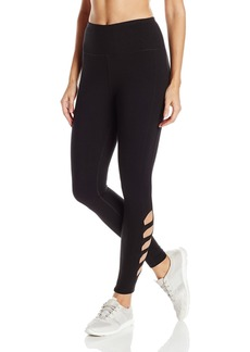 Steve Madden Women's High Waist Full Length Side Cutout Leggings  M