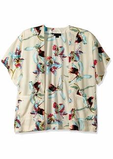Steve Madden Women's HISBISCUS Contemporary Kimono