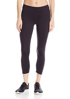 Steve Madden Women's Illusion Mesh Performance Tight  X-Small