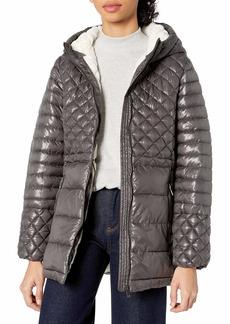 Steve Madden Women's Insulated Parka Jacket