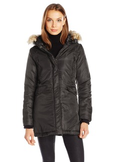 Steve Madden Women's Insulated Parka Jacket  S
