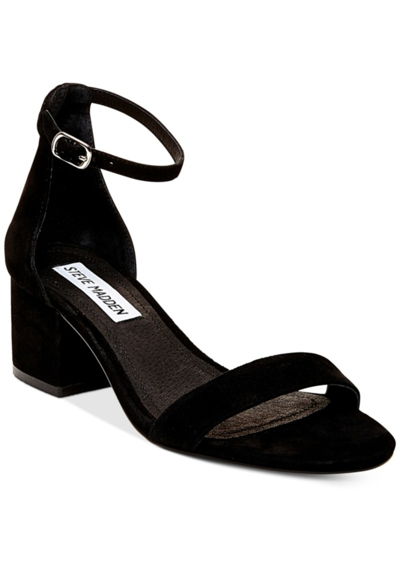 Steve Madden Women's Irenee Two-Piece Block-Heel Sandals
