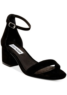 Steve Madden Women's Irenee Two-Piece Block-Heel Sandals Women's Shoes