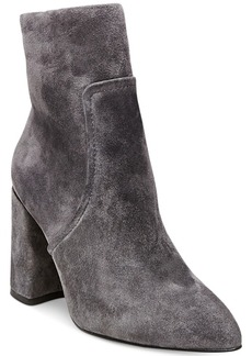 Steve Madden Women's Jaque Pointed Block-Heel Booties Women's Shoes