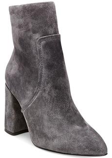 Steve Madden Women's Jaque Pointed Block-Heel Booties Women's Shoes