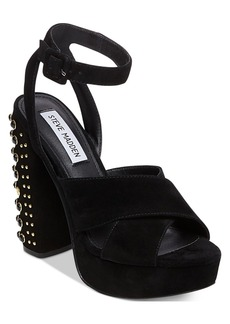 Steve Madden Women's Jodi Two-Piece Studded Heels
