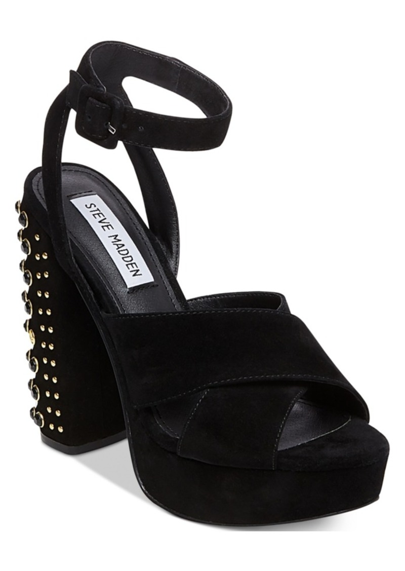 4afe3f91ed Steve Madden Steve Madden Women's Jodi Two-Piece Studded Heels | Shoes