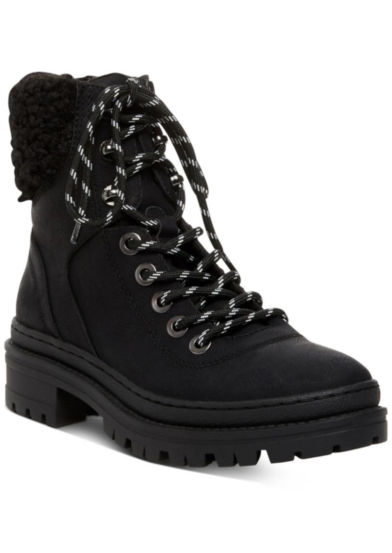 Steve Madden Women's Keystone Lug Hiker Boots