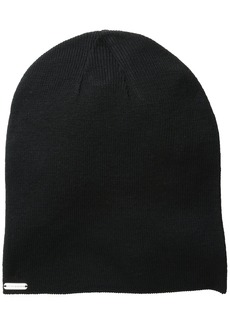 Steve Madden Women's Knit Solid Slouchy Beanie Hat